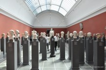 Roman Heads - what a cool display!