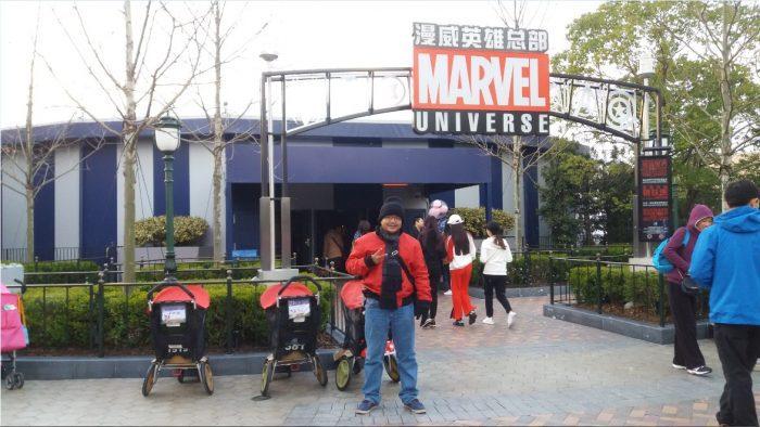 Wisata ke shanghai disneyland