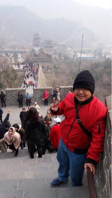 liburan ke great wall tembok china