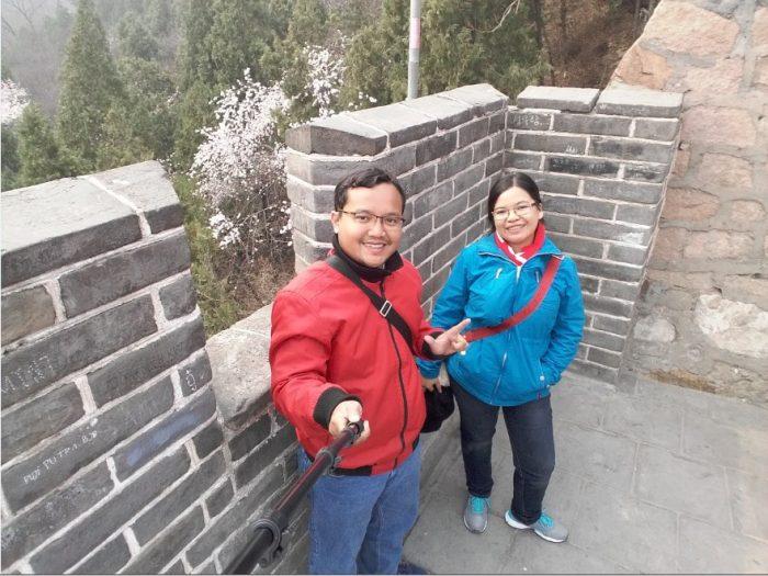 jalan jalan ke tembok china