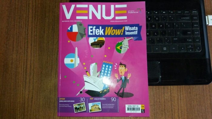 Pakar Digital Marketing Andreas Agung Narasumber di Majalah Venue