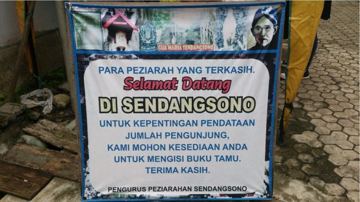 Gua Maria Sendangsono Jogja Tempat Ziarah Favorit