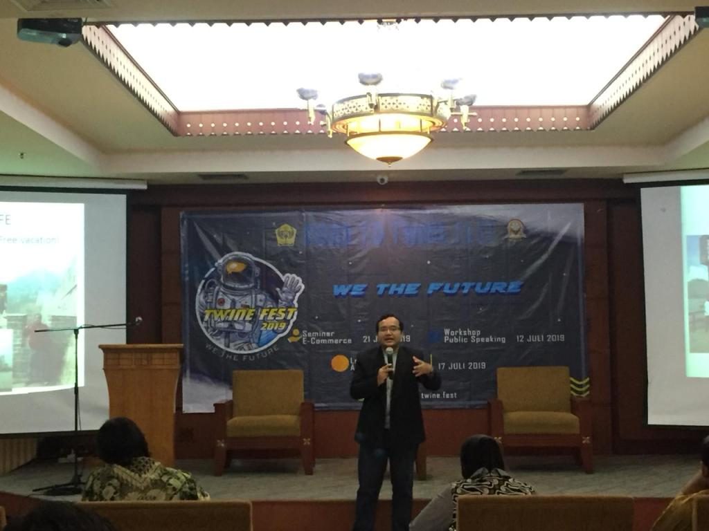 Seminar E-Commerce Digital Marketing SMAN 29 Jakarta