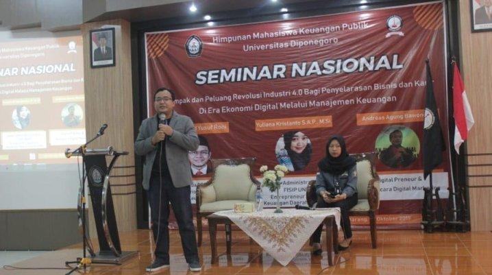 Pembicara Digital Marketing Terfavorit di Indonesia