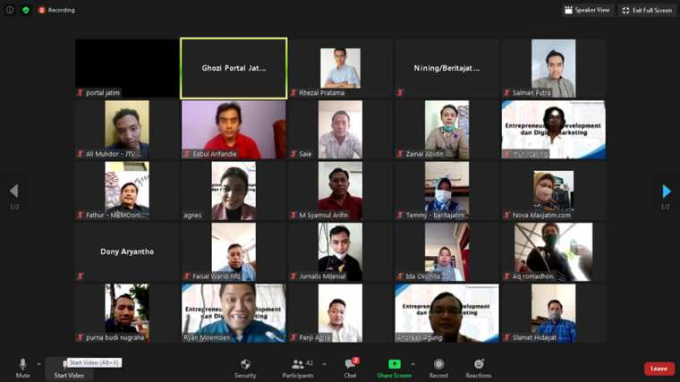 Live Webinar Digital Marketing SKK Migas HCML