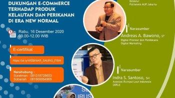 Pembicara Webinar Digital Marketing Politeknik Ahli Perikanan - Pada hari Rabu tanggal 16 Desember 2020, Politeknik Ahli Perikanan Jakarta