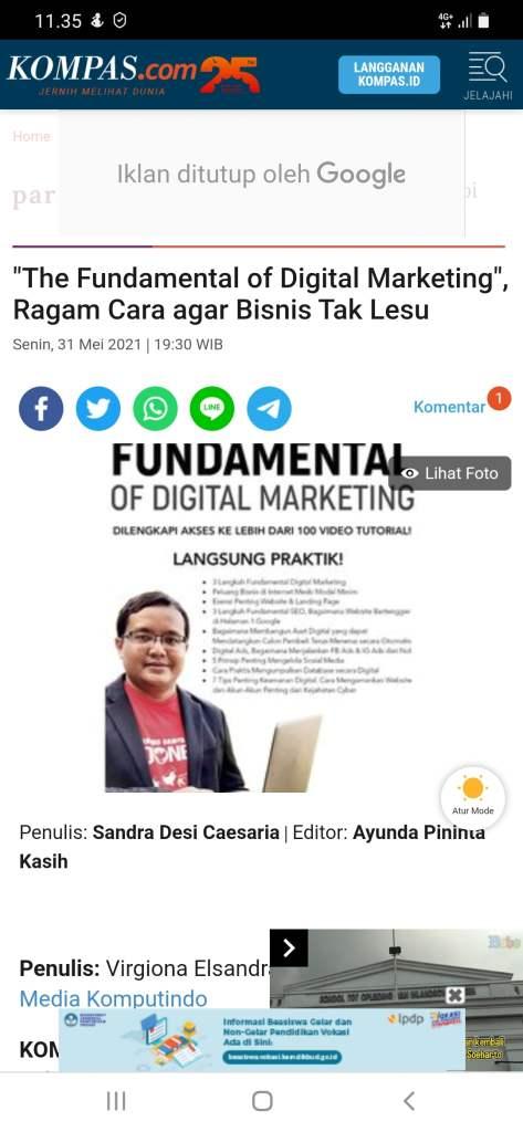 Buku Digital Marketing Terbaik di Indonesia Saat Ini