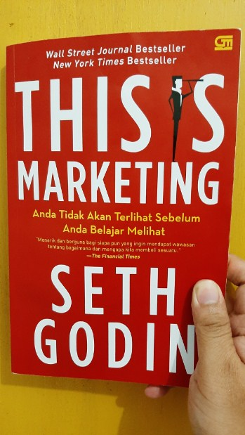 Buku This Is Marketing By Seth Godin