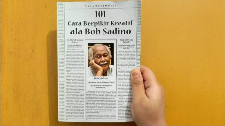 Review Buku 101 Cara Berpikir Kreatif Ala Bob Sadino