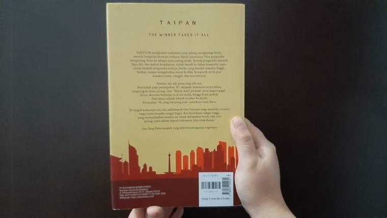Buku TAIPAN The Winner Takes It All