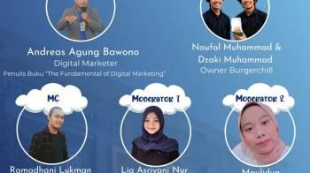 Narasumber Webinar Digital Marketing Universitas Tidar Magelang