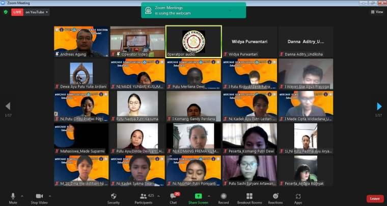 Webinar Kewirausahaan Universitas Pendidikan Ganesha Bali