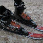 This is what I had on my feed while in the pist, I do love the snowblades.