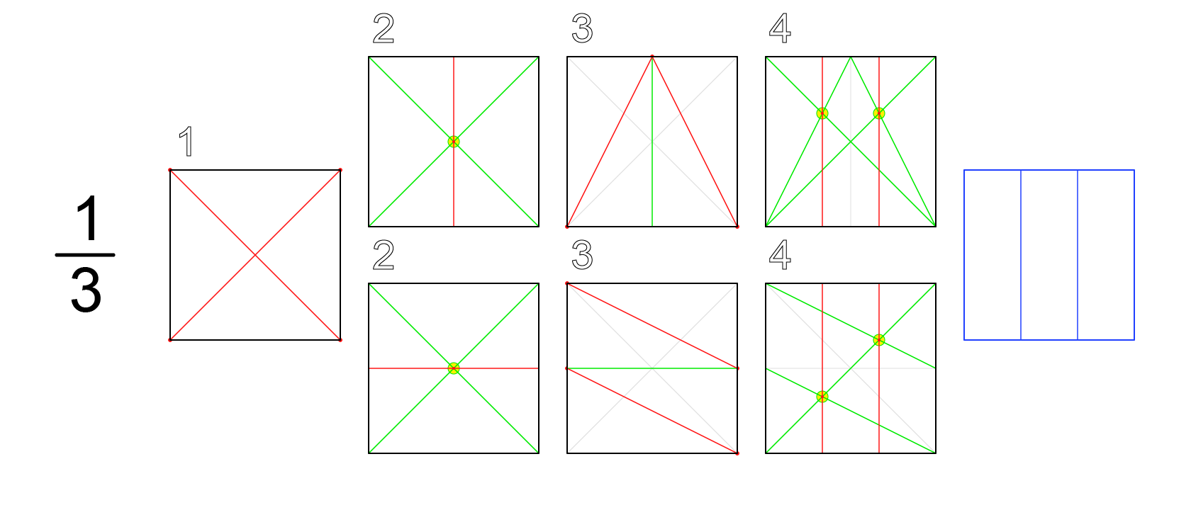 How To Divide A Circle Into 9 Equal Parts Using Compass