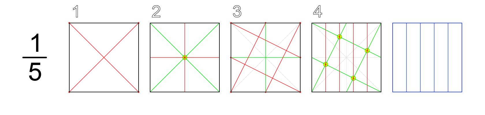 How To Divide A Circle Into 20 Equal Parts