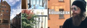 Staying at Hotell Riddargatan