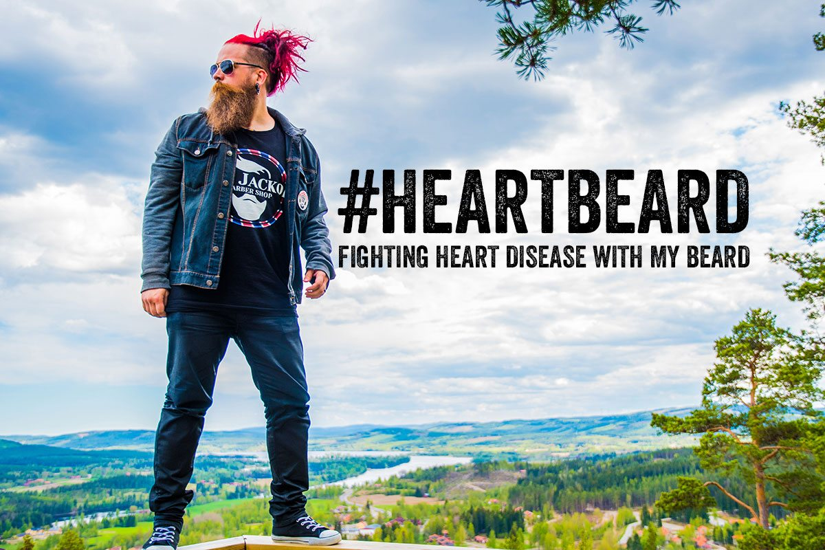 #heartbeard - My way of trying to fight heart disease with my beard