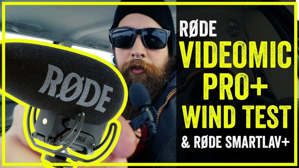 Røde VideoMic PRO+ VS SmartLav+ VS Canon 80D microphone wind comparison