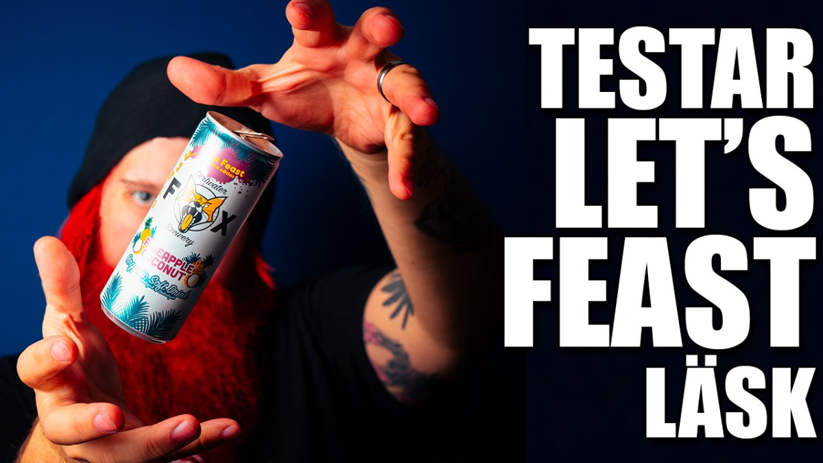 Testar LET'S FEAST Läsk