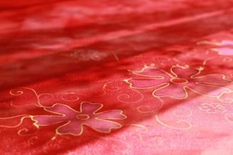 piros selyemsál