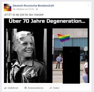 (Person mir der Queer-Fahne von mir unkenntlich gemacht; A.K.)