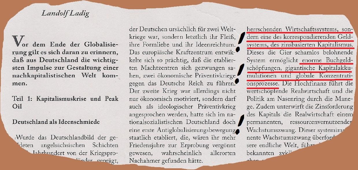 Landolf Ladig, NS Verherrlicher – Andreas Kemper
