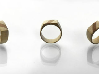 "Ring ""Maple & Cherry"""
