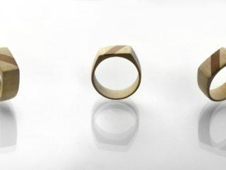 "Ring ""Maple & Cherry"""