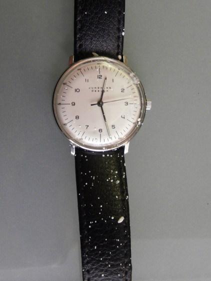 Andreas Matterns besprenkelte Uhr