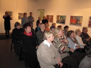 Ausstellung Aquarelle Andreas Mattern in der Galerie 100