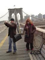 Künstler unter sich - Susanne und ich