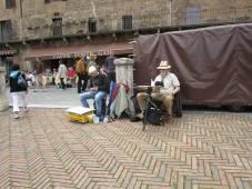 Ich male in Siena
