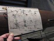 Skizze Elbphilharmonie von Andreas Mattern
