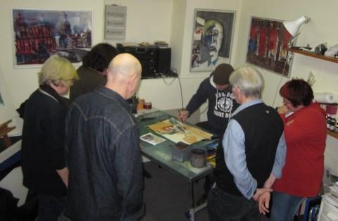 Neuer Atelierkurstermin 18.-20.2.2011