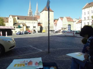 "Regensburg ""Kornmarkt"", Andreas Mattern"