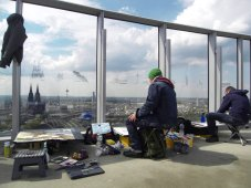 Malen in Köln v. 4.05-6.05 2012, Andreas Mattern