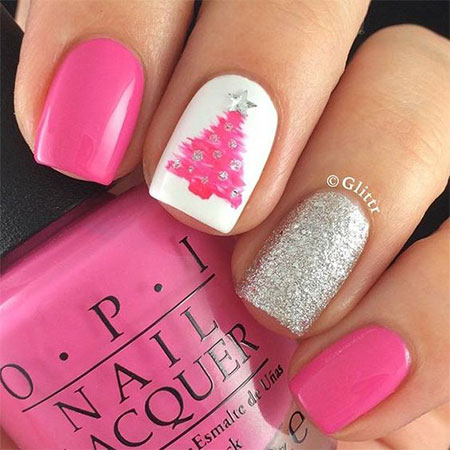 Top 20 Fabulous Christmas Nail Art Designs