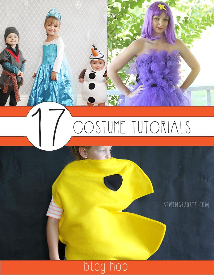 17 new costume tutorials!