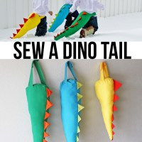 DIY Dino Tail Tutorial