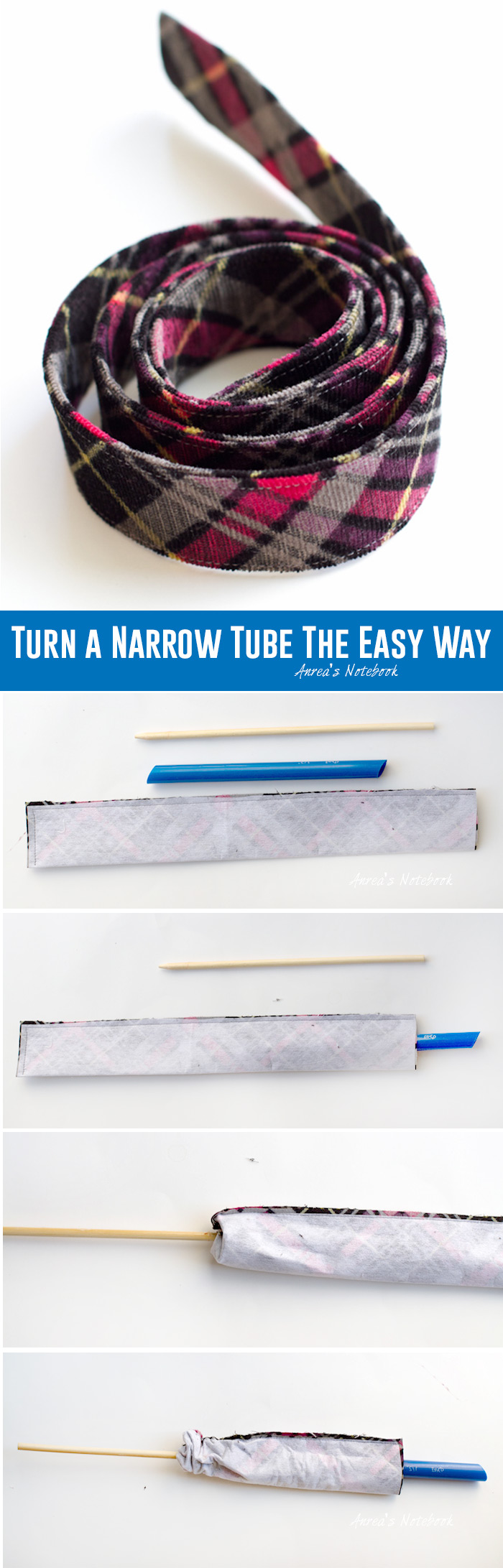 How to turn a narrow tube the easy way. i.e. Why had I never done this before???
