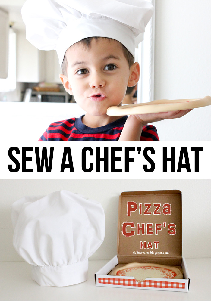 Child Chef Hat Pattern : child, pattern, Pizza, Chef's, Tutorial, Andrea's, Notebook