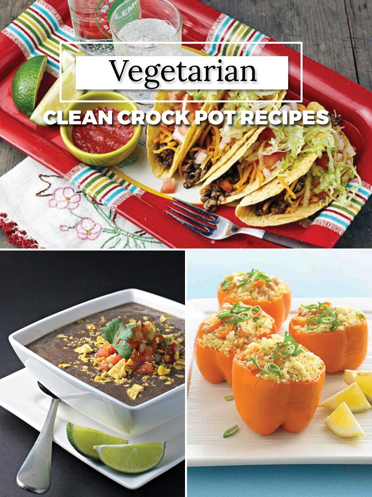 Vegetarian crock pot recipes- CLEAN EATING