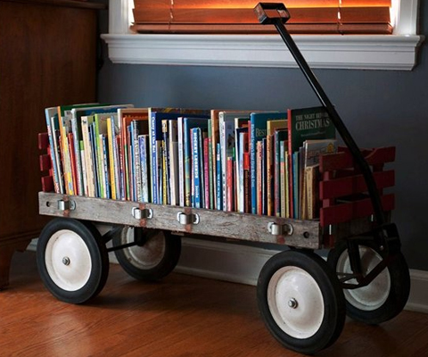 Dozens of great toy and book storage solutions!