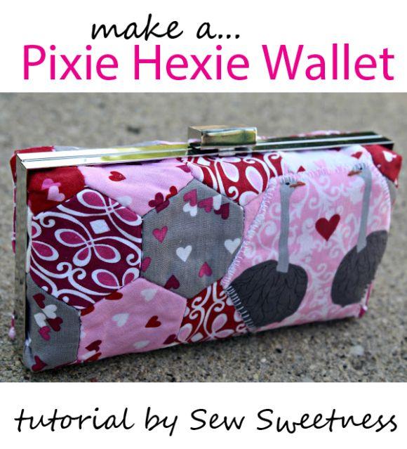 Pixie hexie wallet tutorial
