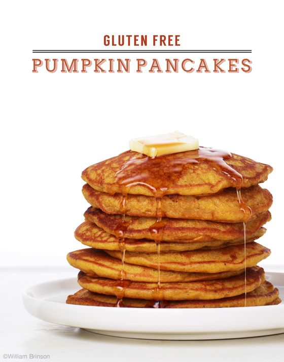 pumpkin pancakes! Delicious! Plus lots of other great pancake recipes.