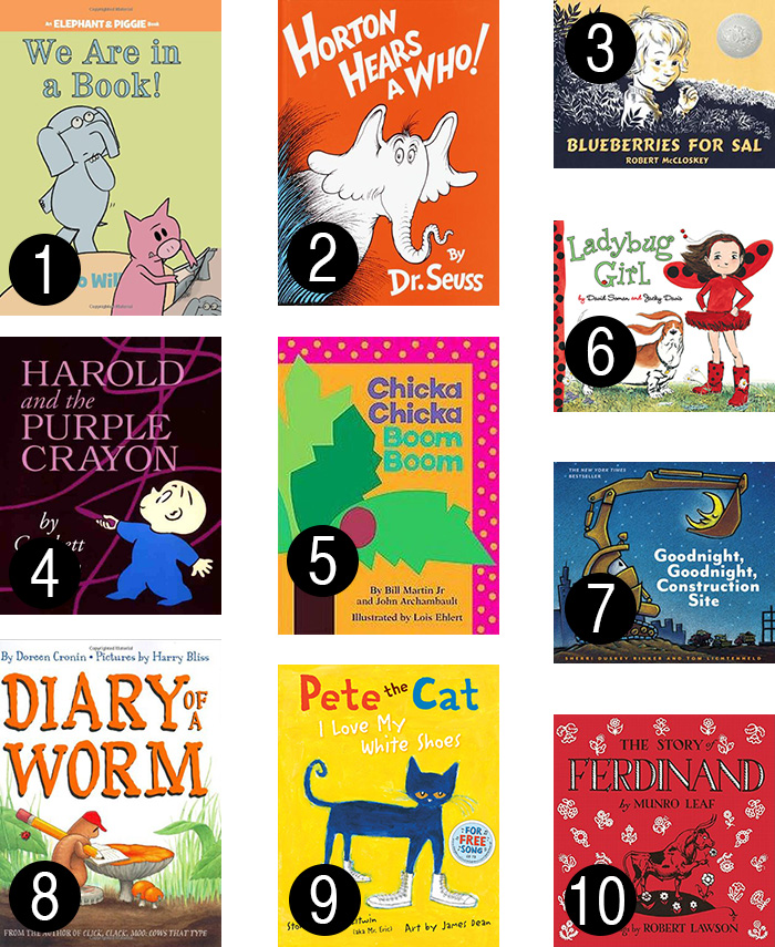 Top 10 best books for preschoolers
