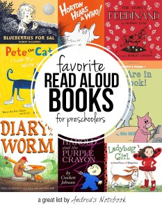 10 BEST read aloud books for preschoolers!