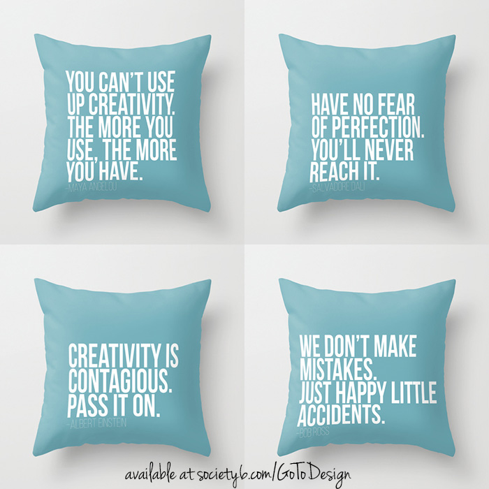 Pillow quotes!