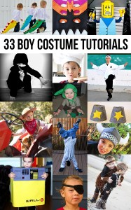 33 costume tutorials for boys! Fantastic!