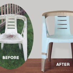 How To Paint Plastic Chairs Outdoor Wicker Rocking Chair Cushions A Multi Color Andrea S Notebook